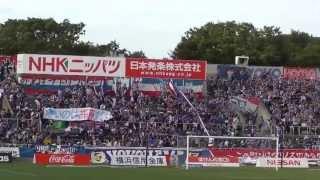 2013-07-06J1第14節横浜VS大分@ニッパツ 4年ぶりとなる試合前のダンマ...