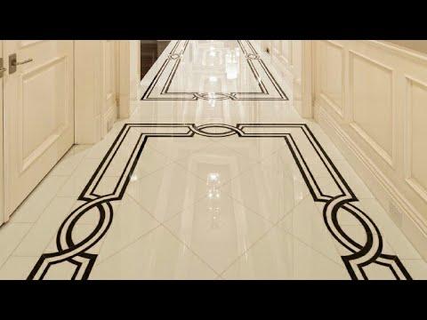 MarbleFloorDesignCorridorwithborders  YouTube