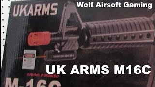 Video M16C UK Arms Airsoft Unboxing and Review download MP3, 3GP, MP4, WEBM, AVI, FLV Juni 2018