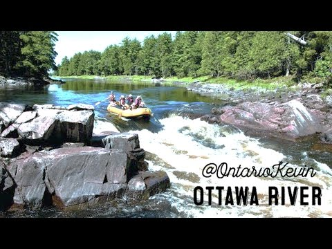 Whitewater Rafting Down The Ottawa River