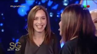 Fátima Florez y una impresionante imitación de María Eugenia Vidal - Susana Giménez 2017