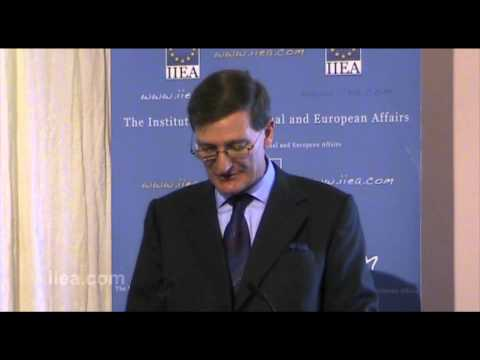 Dominic Grieve QC MP on The UK Government's Position on Justice and Home Affairs