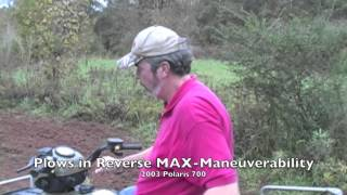 GroundHog MAX on ATVs - Polaris, Honda, Arctic Cat & Kubota UTV