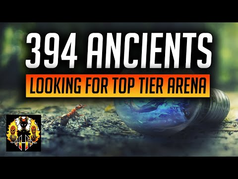 RAID: Shadow Legends | 394 ANCIENT SHARDS! NEED A TOP TIER ARENA LEGENDARY! DOUBLE CHANCES!