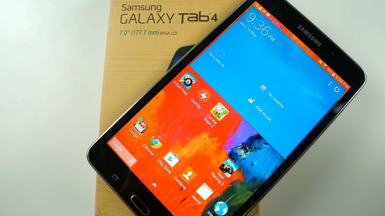 Samsung Galaxy Tab 4 7.0 FULL REVIEW - YouTube