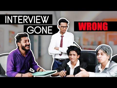 Interview Gone Wrong | Chetan Lokhande