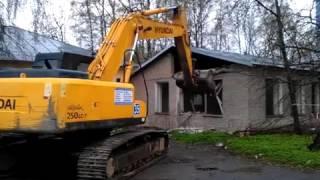 видео Cнос-демонтаж дачных домов в СПб недорого