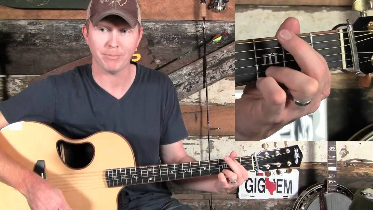 How To Play A Bluegrass Or Country G Chord On Guitar Youtube