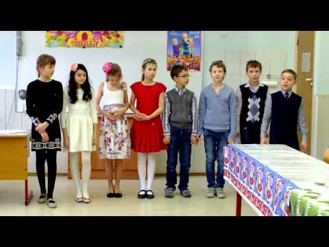 Школа №1950 выступление 8 марта 2 серия (Загадки!)