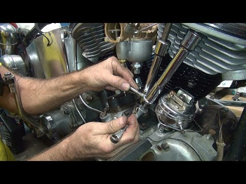 1958 panhead 74ci #146 fl bike rebuild topend repair harley by tatro machine