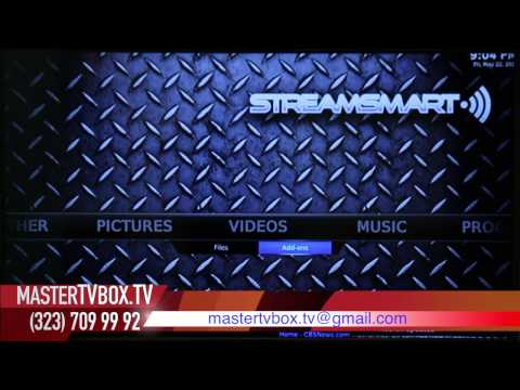 Como programar tu mastertvbox (Stream Smart) by mastertv box