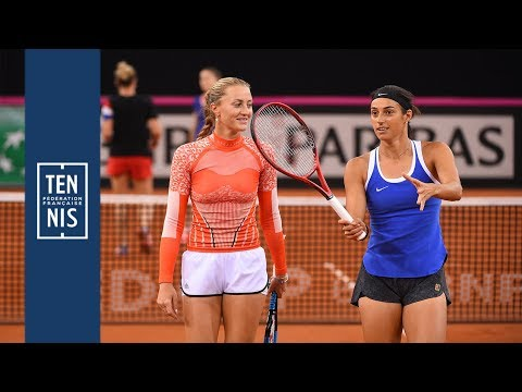 Fed Cup 2019 - France / Roumanie - la minute bleue n°4 : du simple au double | FFT