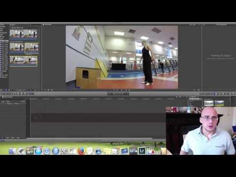 FCPX tutorial - How to edit 120fps GoPro Hero 3+ Video For Slow Mo