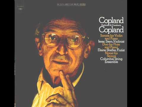 Aaron Copland-Violin Sonata (Complete)