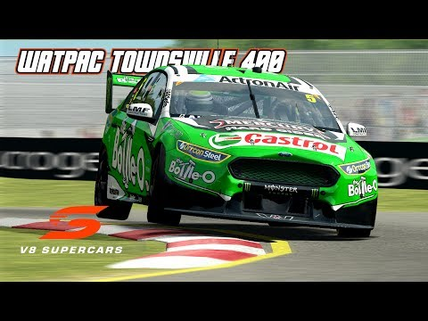 VASC: Watpac Townsville 400 (V8 Supercar in Automobilista)