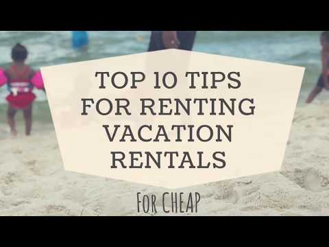 How to book vacation rentals for CHEAP | AirBnB or VRBO