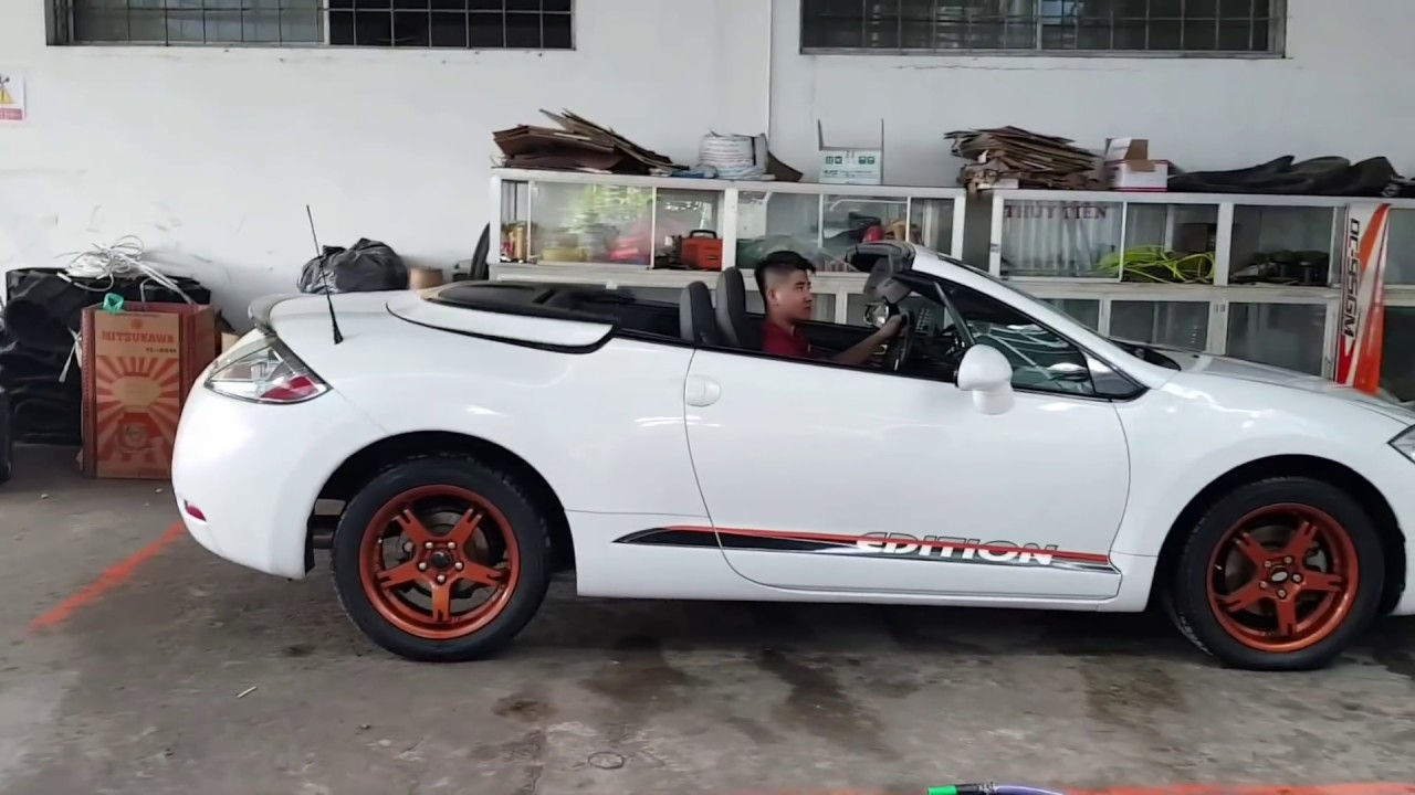Ban Xe Mui Trần Mitsubishi Eclipse Spyder Xe đa Ban Youtube