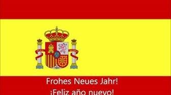 Spanisch-Lektion: Frohe Weihnachten und Glückliches neues Jahr!
