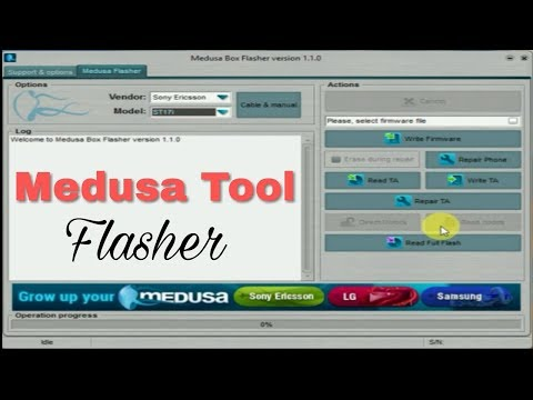 Medusa Flasher v1 1 0 1 Tool (Without box) | Sony & HTC Flash Tool