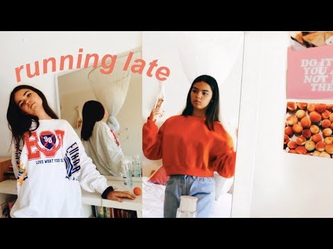 [VIDEO] - running late and don't know what to wear / outfit ideas for back to school 5