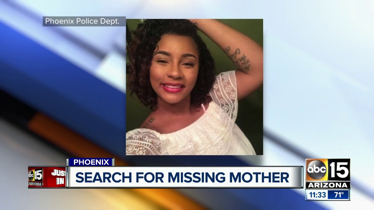 police woman reported missing after leaving west phoenix home baby