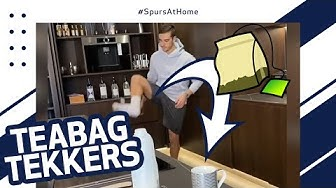 HARRY WINKS' TEABAG TEKKERS! Best home skills and tricks from Spurs players and fans! #SpursAtHome