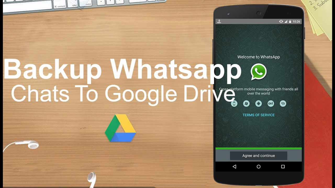 How To Backup Your Whatsapp Messages To Google Drive Youtube