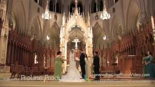 Wedding Ceremony at Basilica of the Sacred Heart (Johanny-Juan)