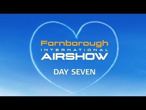 Farnborough international Airshow 2016 Sunday