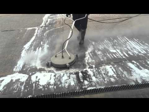 Industrial service yard cleaning Hot High Pressure Jet Washing Cleaning