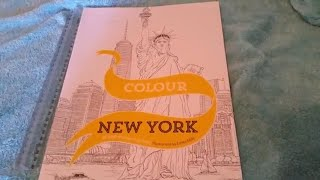 New York Coloring Book review!