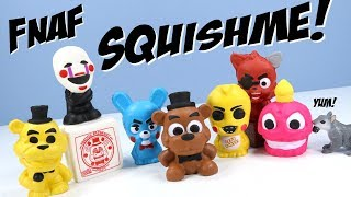 Five Nights at Freddys Squishme Toys Full Collection Review