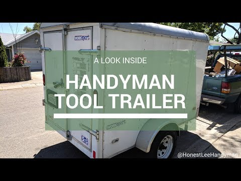 Handyman Tool Trailer / What's inside