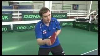 Уроки настольного тенниса А.Власова для начинающих. Часть 3