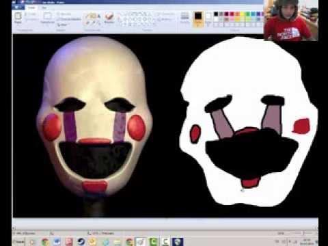 Worksheet. El nio rata dibuja los animatronics de FNAF 2  YouTube