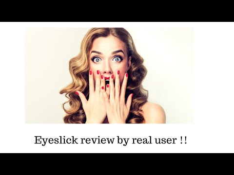 Eyeslick review:. http://bit.ly/30sbQqM