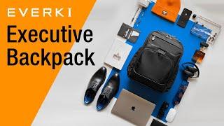 EVERKI Executive Travel Frięndly Laptop Backpack (EKP132)