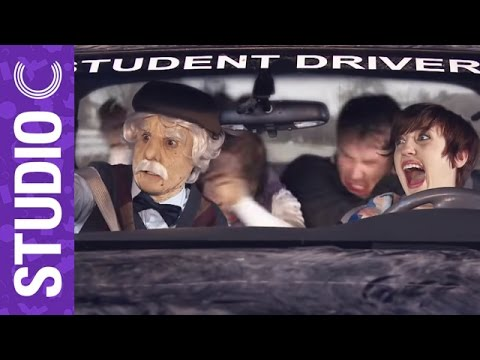 Insane Drivers Ed Teacher Scares Students | Studio C