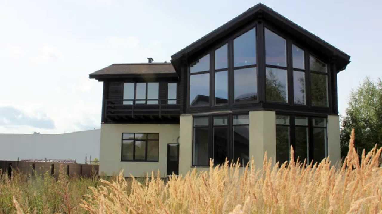 Купить дом в деревне на берегу в Подмосковье недорого от .