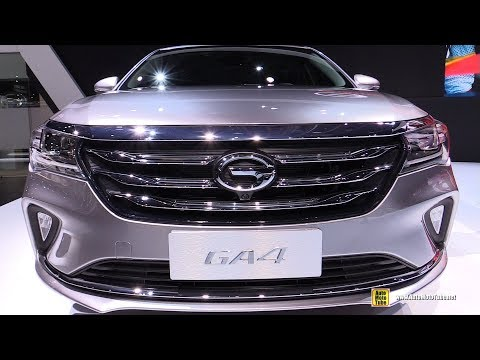 2019 GAC GA4 - Exterior and Interior Walkaround - 2018 Detroit Auto Show