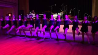 The Blue Belles at Melbourne Swing Festival 2015 - Yes Sir That