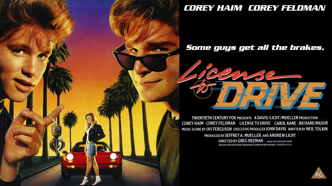 Image result for corey feldman license to drive