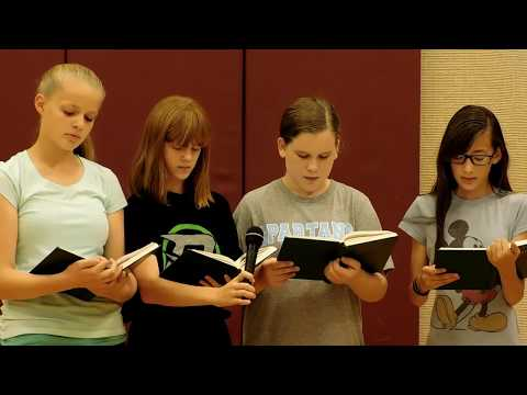 PWWTS 2016 - The Beehive Class Sings I Know My Father Lives