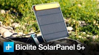 Biolite SolarPanel 5+ And PowerLight Mini