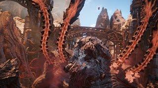 Gears of War 4: Hive Boss Final Boss Fight and Ending (4K 60fps)