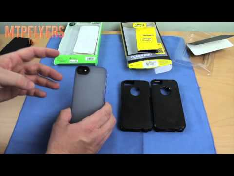 Otterbox Commuter and Belkin Candy Sheer Case for the iPhone 5