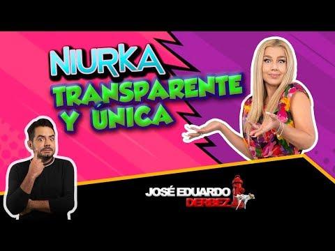 ¡TRANSPARENTE Y ÚNICA! | Entrevista NIURKA | José Eduardo Derbez