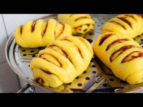 南瓜和面粉最神奇的做法,在家简单一做,比面包都好吃
