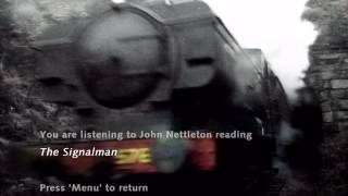The Signal Man ghost story original DVD reading audio book Charles Dickens M.R.James Signalman