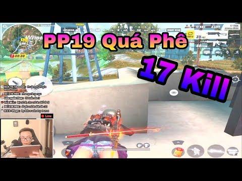 Rules Of Survival | 17 Kill Với PP19 Và M4A1 - Top 1 Quá Chất